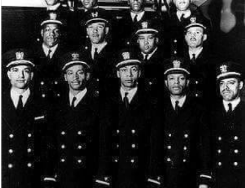 """1st African-American Naval officer-training group in America- """"The Golden Thirteen"""""""