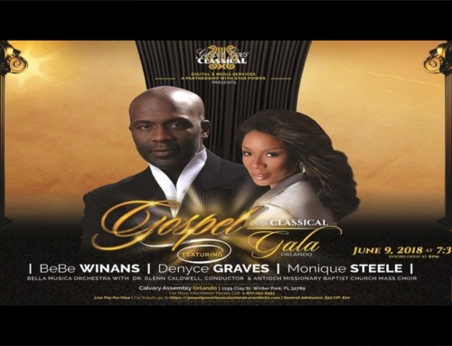 Gospel Goes Classical ft. BeBe Winans: June 9, Winter Park, FL