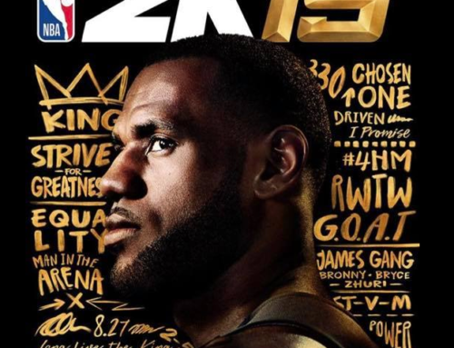 LEBRON JAMES NAMED COVER ATHLETE FOR NBA2K19 20TH ANNIVERSARY EDITION
